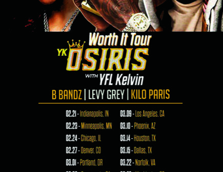 Def Jam's YK Osiris announces Worth It Tour feat YFL Kelvin